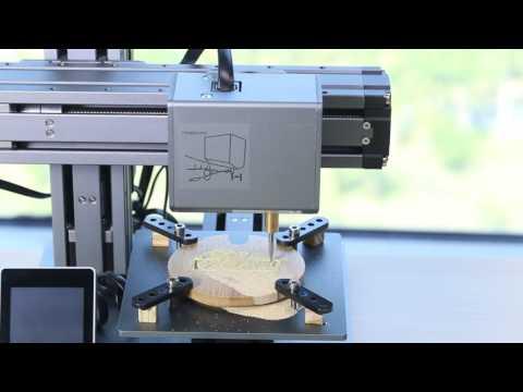 Snapmaker 3D Printer can do CNC carving!