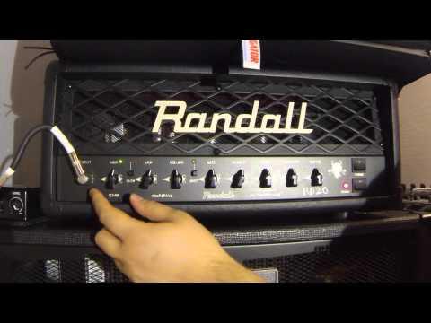 Randall RD20h demo