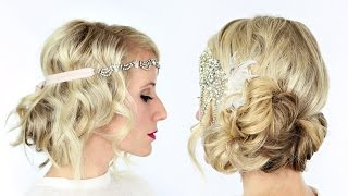 2 gorgeous GATSBY inspired hairstyles