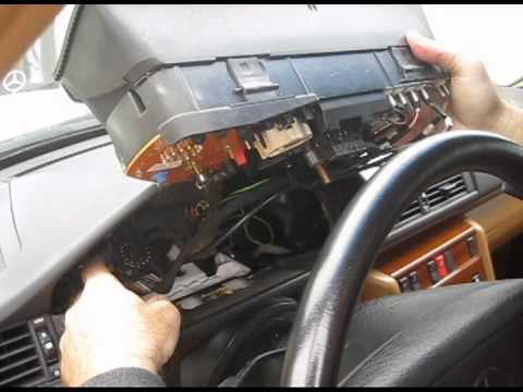 1994 Mercedes E320 (W124) Outside Temperature Display Replacement