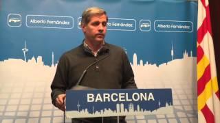 """Alberto Fernández: """"Dos de cada tres barcelonins van decidir no votar el 9N"""""""