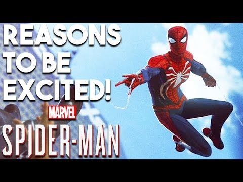 SPIDER-MAN PS4 - 10 BIG Reasons You SHOULD Be Excited! (PS4 Exclusive 2018)