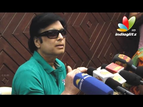My Brother Cheated My Whole Family - Navarasa Nayagan Karthick | Press Meet video