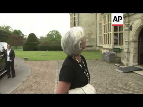 Finance ministers meet in G7 session; Osborne, Lagarde comment