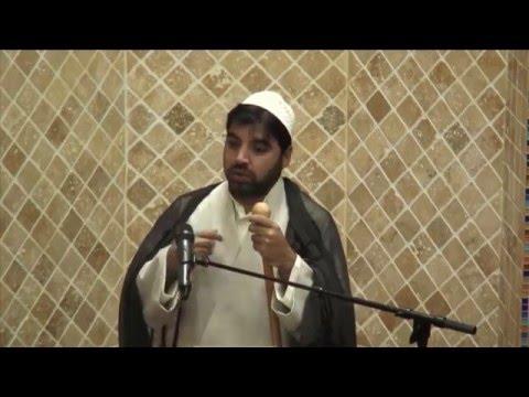 Jumah Khutbah 12/11/2015 Mualana Muffazal Ali