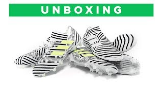 adidas Nemeziz 17+ 360Agility Unboxing - all the football boots from the New Messi silo