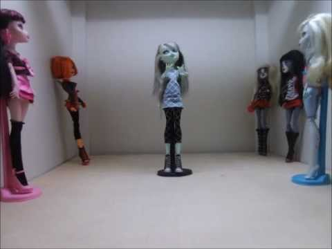 Monster High Stop Motion-fright Song video