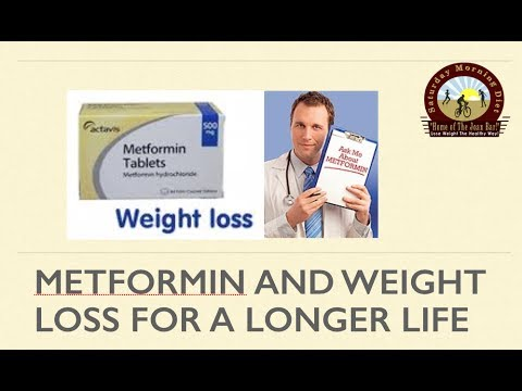 Taking metformin for weight loss