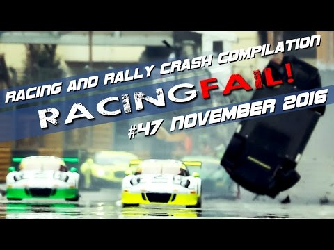 Racing and Rally Crash Compilation Week 47 November 2016 - Macau Special