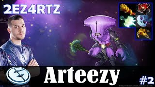 Arteezy - Faceless Void Safelane | 2EZ4RTZ 7.18 Update Patch | Dota 2 Pro MMR Gameplay #2