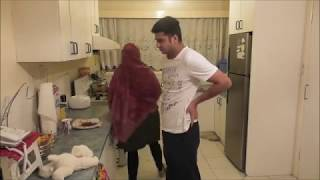 ਰੋਲਾ ਰੋਟੀ ਦਾ | Punjabi Funny Video | Latest Sammy Naz | Husband Wife Vines