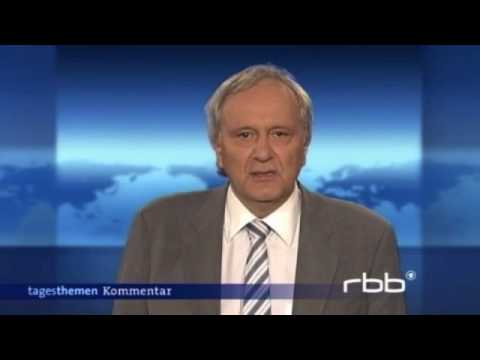 Pro Israel comment on German public television on the Gaza Flotilla crisis. (English subtitles).