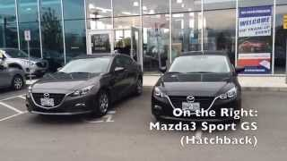 Mazda3: Sedan or Hatchback? Review and Compare