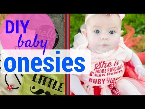 DIY Baby Onesies! | Tay from Millennial Moms