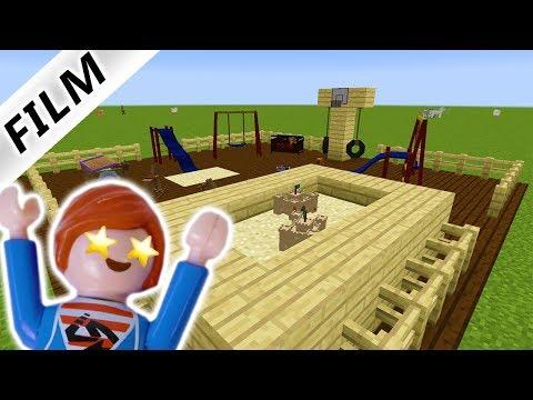 Playmobil Klettergerüst : Playmobil diy spielplatz idee klettergerüst selber machen