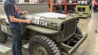 Willys Jeep Restoration Short Time Lapse - [No Music]