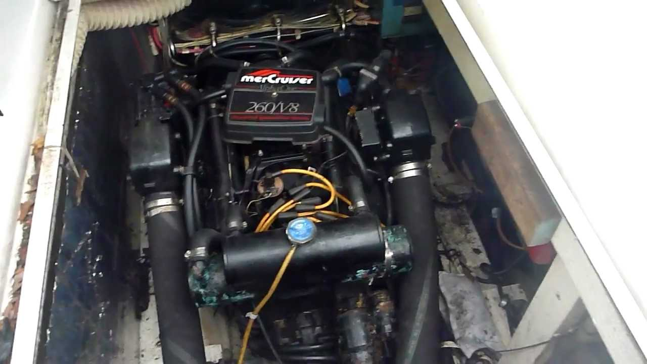 260 Mercruiser 5 7 L 350 Block Engine For Sale   Updated