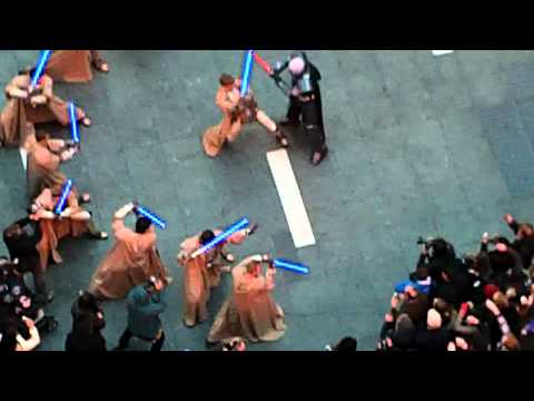 Star Wars Old Republic Flash Mob - Times Square.MOV