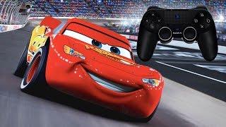 Disney pixar cars exciting car race full gameplay ディズニーカーズのレースゲームで遊んでみたよ(^^♪
