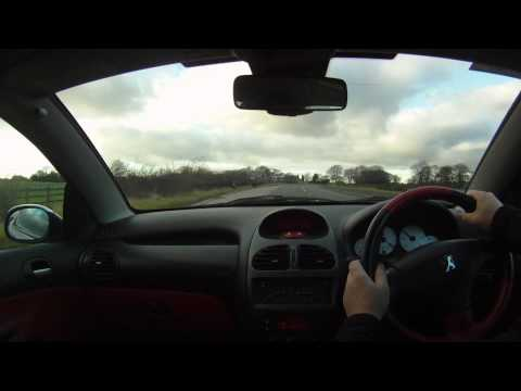 03 03 Peugeot 206 CC 2.0 Convertible Virtual Test Drive