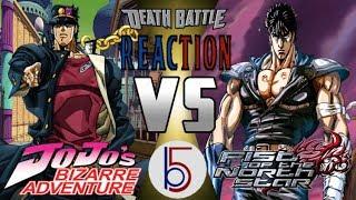 ANIME ASS KICKINGS | Jotaro vs Kenshiro Death Battle REACTION