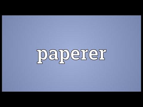 Header of paperer
