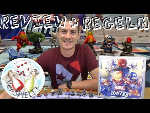 Marvel United Review + Regeln, CMON, Kooperatives Spiel