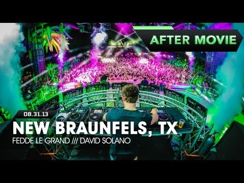 Life In Color - Rebirth Tour - New Braunfels, TX - 08/31/13 - Fredde Le Grand