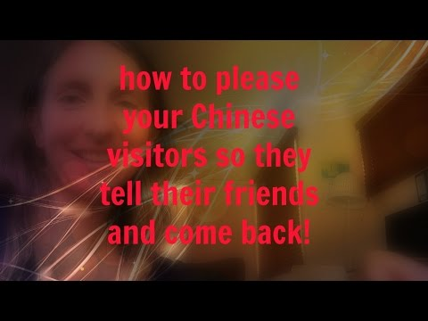 How to please your Chinese tourists
