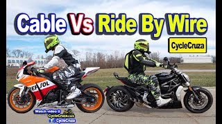 Motorcycle Ride By Wire Vs Cable Throttle - Which is Better? | MotoVlog