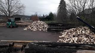 Unsere Brennholzproduktion