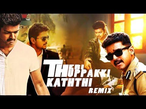 THERI THUPPAKKI KATHTHI remix | Ilayathalapathy VIJAY