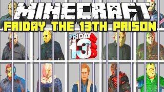 Minecraft : FRIDAY THE 13TH CREEPYPASTA PRISON ESCAPE MOD (Ps3/Xbox360/PS4/XboxOne/PE/MCPE)