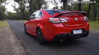 2016 Holden Commodore SS V Redline (LS3) 0-100km/h & engine sound