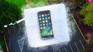 Can 20 LB of Dry Ice Protect iPhone 7 from EXTREME 100 FT Drop Test?