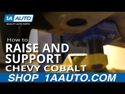 Where to Lift Jack and Support Chevy Cobalt Pontiac G5 05-10 1AAuto.com
