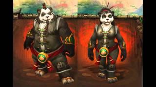 Mist of Pandaria - Emotes y Frases Pjs Jugables Español (España) - Pandaren