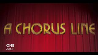One - Zach Solo Practice Track - A Chorus Line