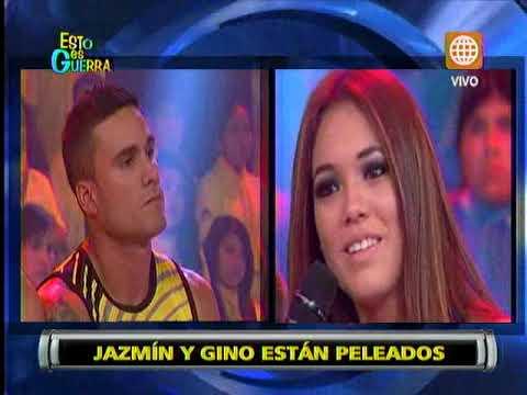 Esto es Guerra: Jazmín Pinedo lloró por pelea con Gino Assereto