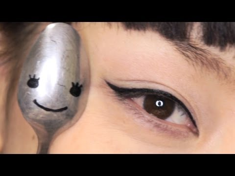 MY SPOON STORY ~ Apply Eyeliner & Mascara.Curl your Lashes ~