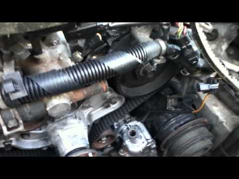 1994 Mazda MPV timing belt replacement. 6 cylinder DOHC 3.0