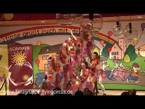 """Die vier Jahreszeiten - Showtanzgruppe """"The Flying Circus""""- 2017"""