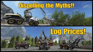 Farming Simulator 17 PS4: A Guide to... Dispelling the Myths about Log Prices!