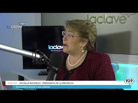 Presidenta y su relación con ex Presidente Lagos