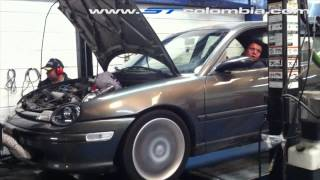 Dodge Neon TURBO Colombia ST100 - Dyno Test