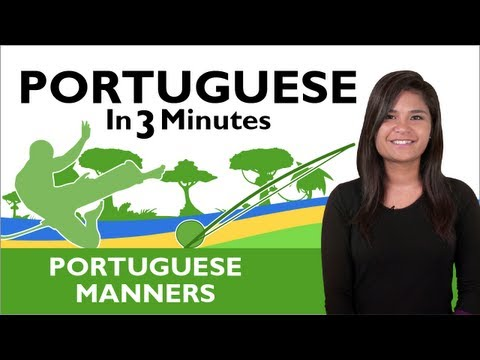 Learn  Brazilian Portuguese - Thank You & You're Welcome in Brazilian Portuguese