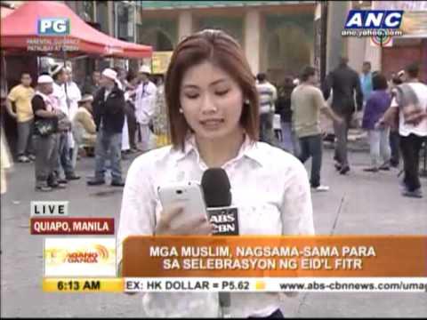 Filipino Muslims mark end of Ramadan