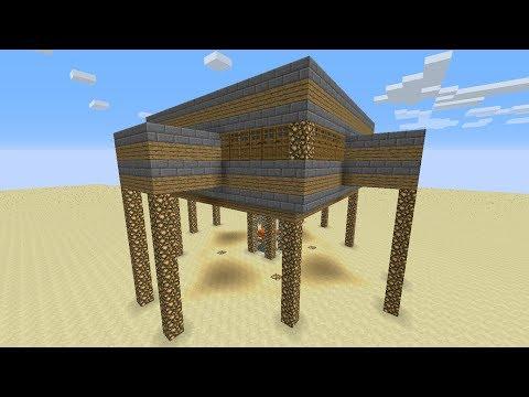 Como crear Granja de Hierro Automática Minecraft 1.7.4 (Fácil)   Tutorial Minecraft