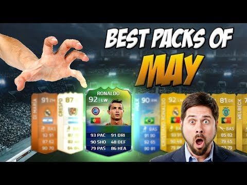 FIFA 14 - Best Pack Reactions Of May Ft. TOTS & World Cup Ronaldo In A Pack!