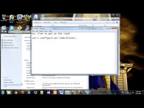 [GTK][Code Blocks] How to install gtk in windows 7